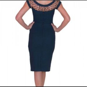 Tatyana Navy Blue Dress